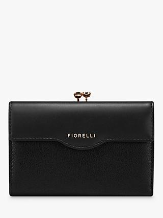 Fiorelli Olivia Kiss Lock Purse, Black