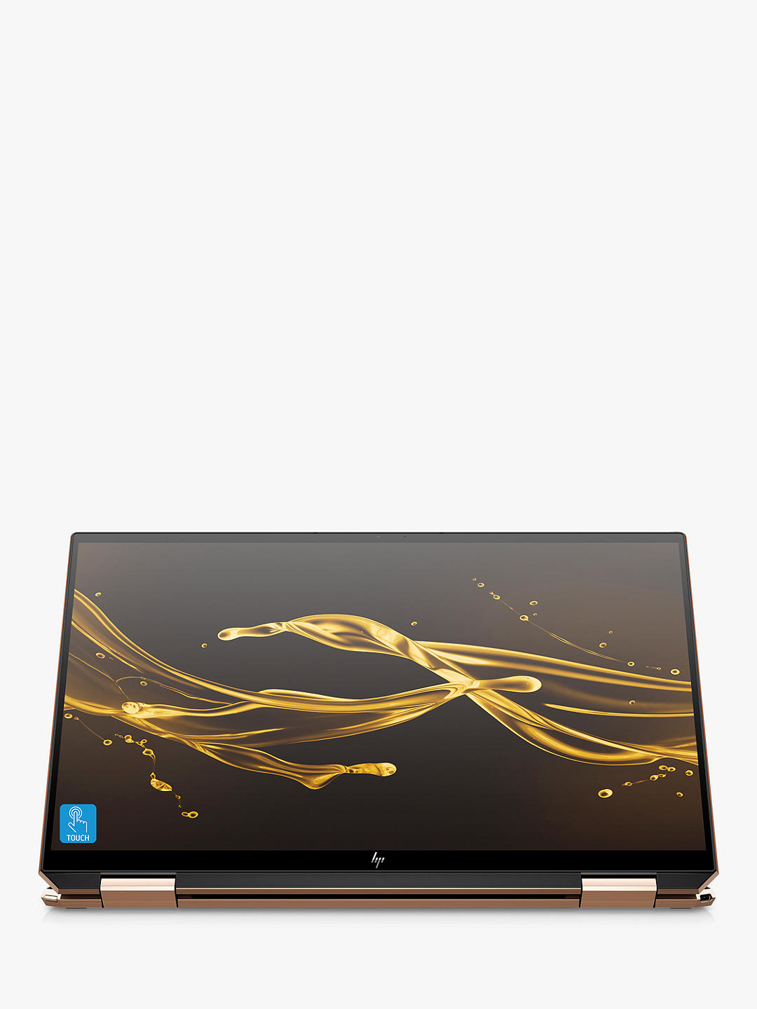 "Buy HP Spectre x360 13-aw0054na Convertible Laptop with HP Tilt Pen Stylus, Intel Core i7 Processor, 16GB RAM, 1TB SSD + 32GB Intel Optane Memory, 13.3"" 4K Ultra HD, Nightfall Black Online at johnlewis.com"
