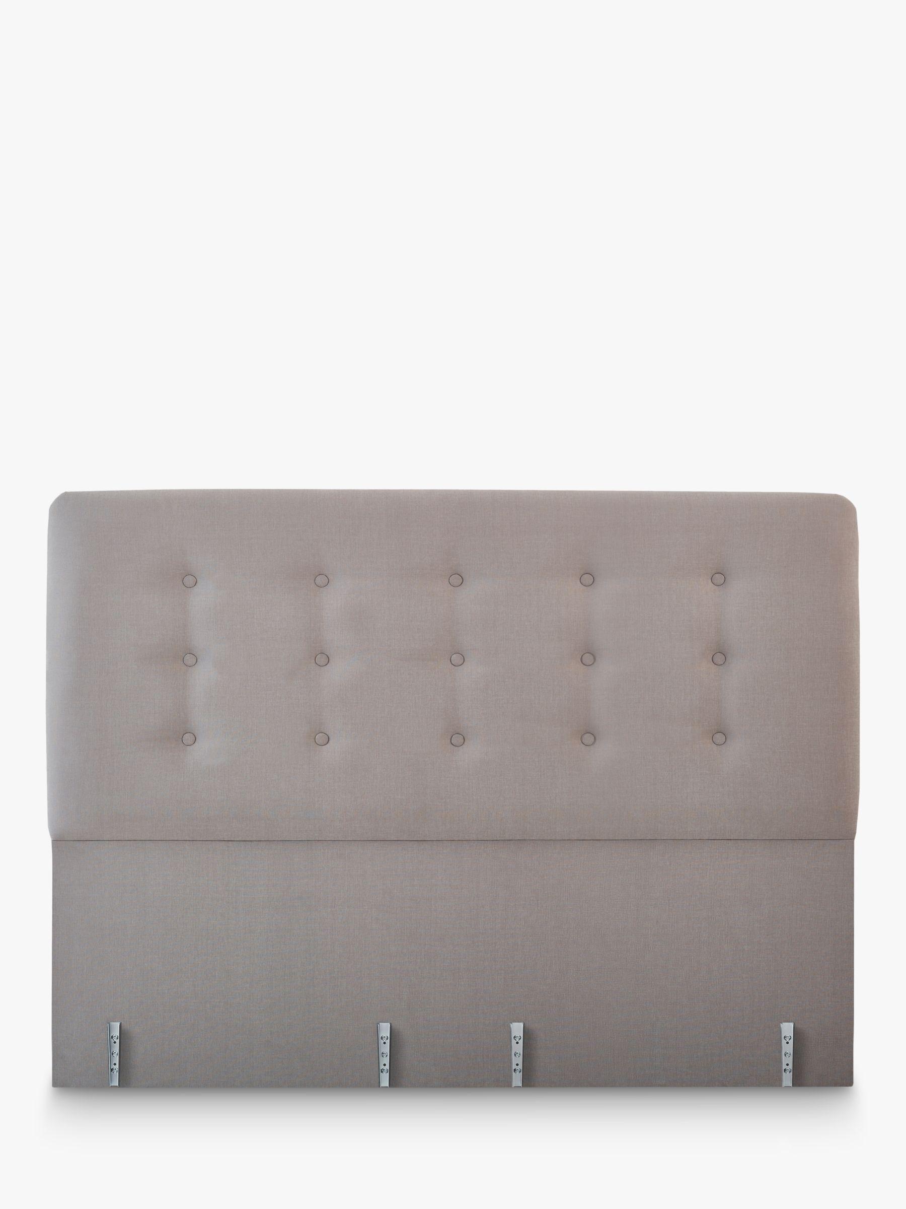 Vispring Clio Full Depth Upholstered Headboard, Super King Size, FSC-Certified (Chipboard)