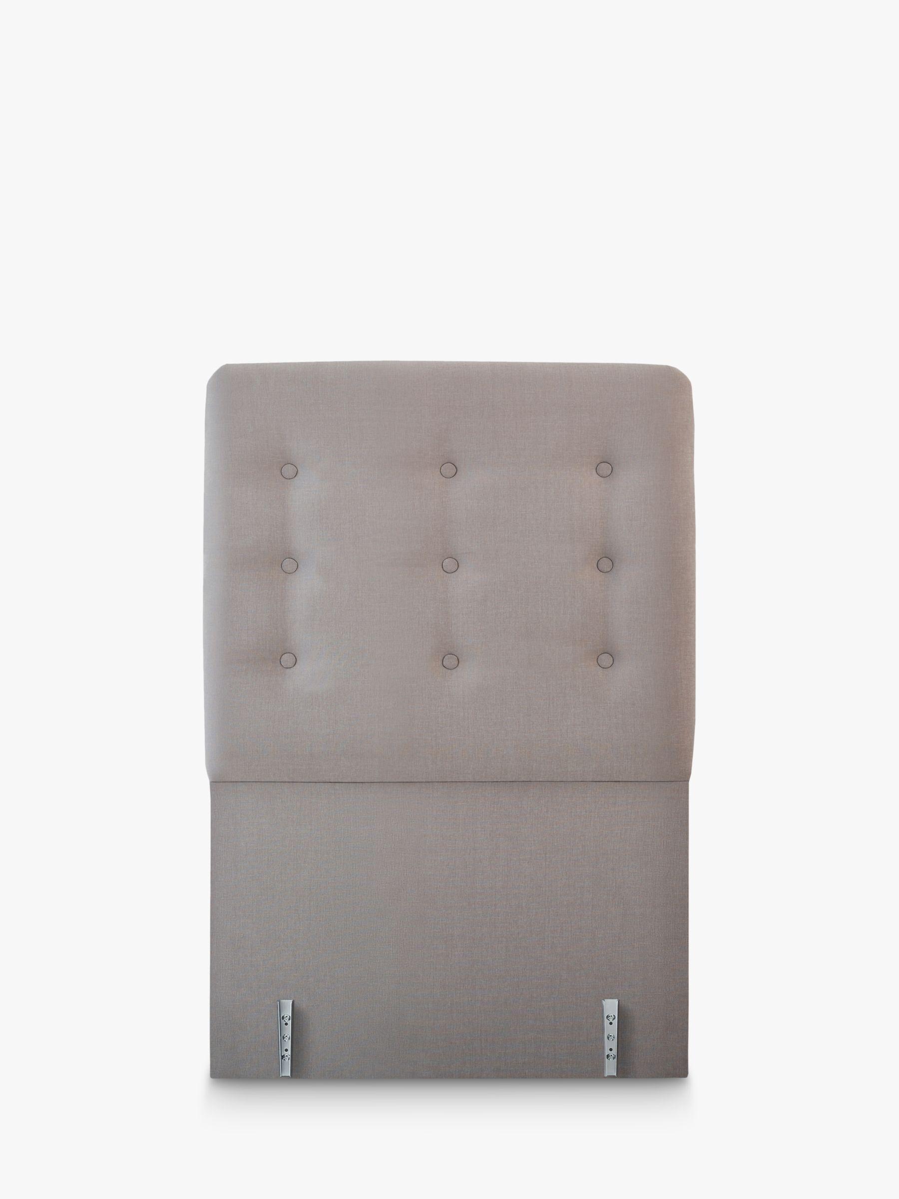 Vispring Clio Full Depth Upholstered Headboard, Single, FSC-Certified (Chipboard)