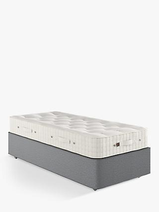 Vispring Woolacombe Supreme 2000 Mattress and Premier Divan Base Set, Medium Tension, Single, Amatheon Wolf, FSC Certified (Spruce)