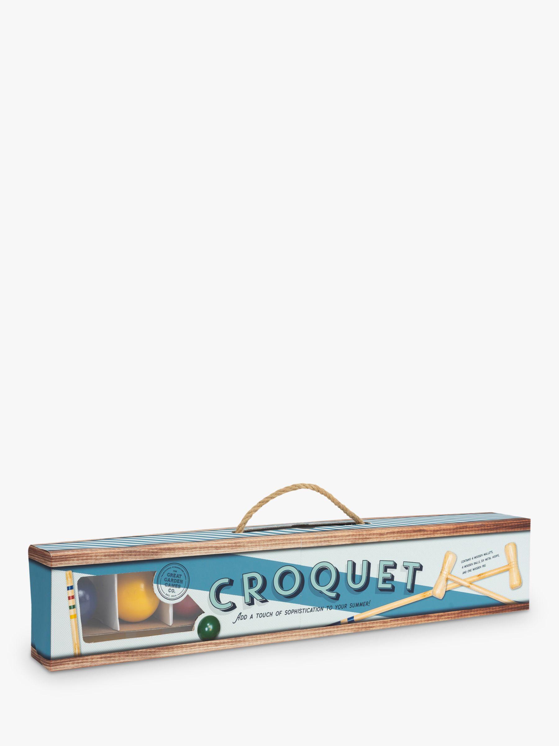 Professor Puzzle Professor Puzzle Croquet Set