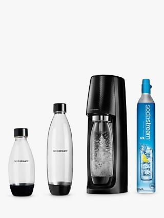 SodaStream Spirit Sparkling Water Maker Mega Pack, 60L