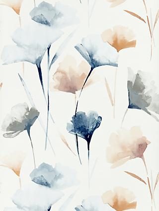 John Lewis & Partners Ginkgo Wallpaper, Multi