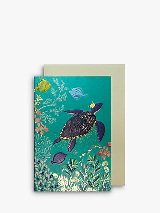 Sara Miller Turtle Note Cards, Pack of 10