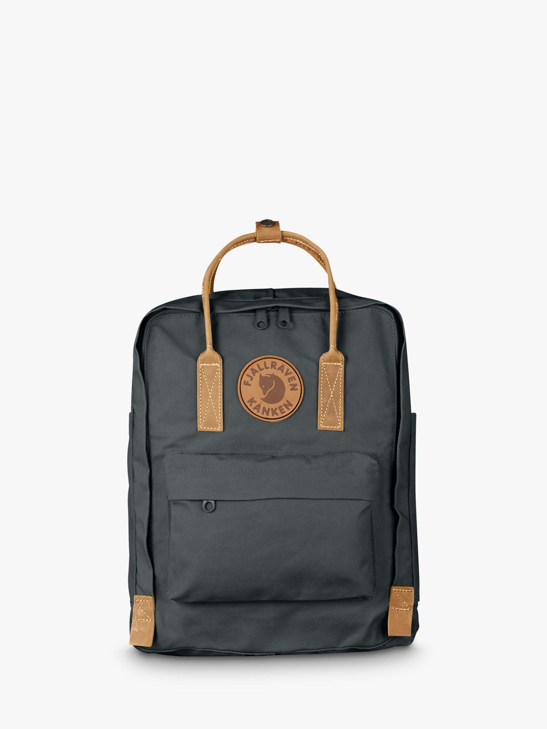 Fjallraven Fjällräven Kanken 2 Leather Trim Backpack