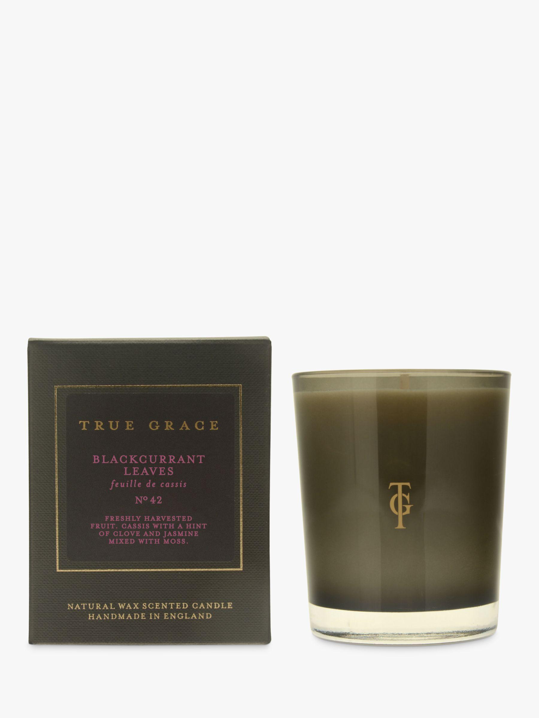 True Grace True Grace Blackcurrant Scented Candle, 190g