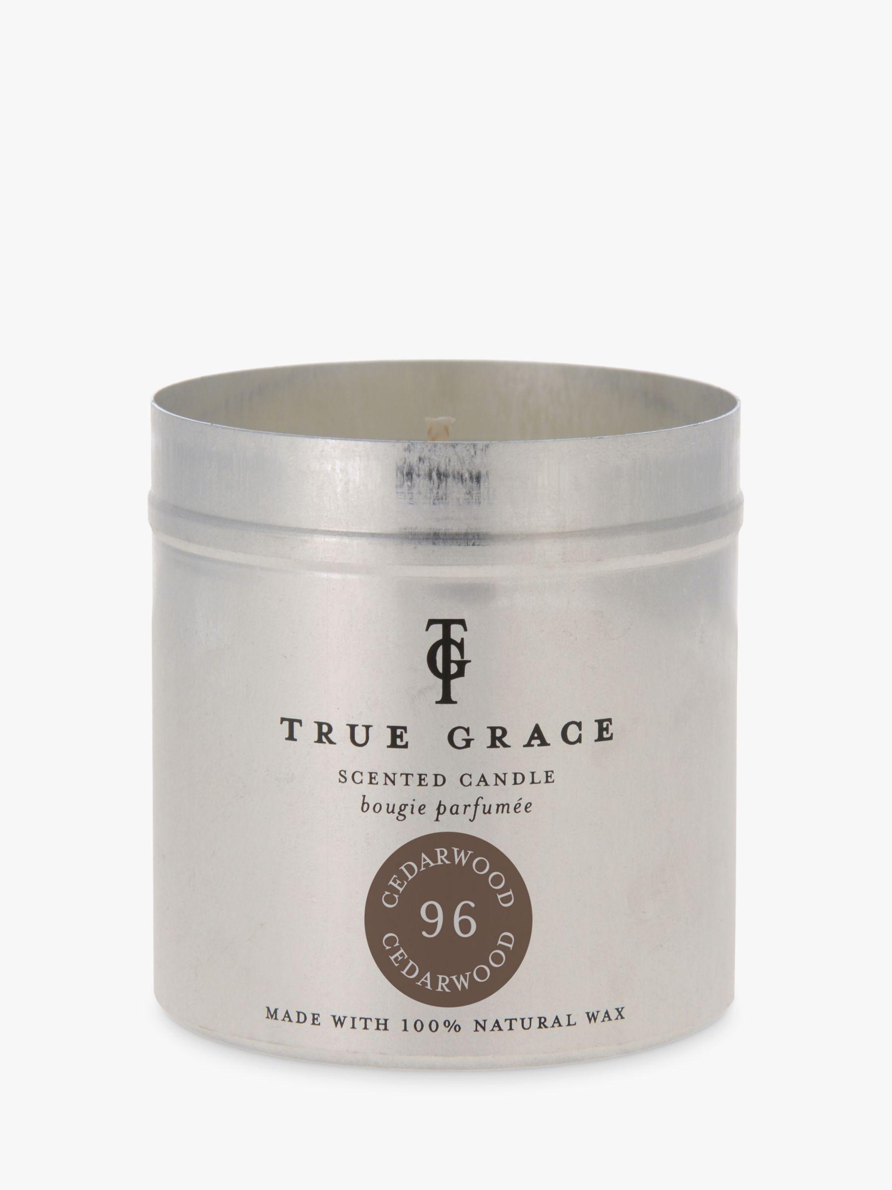 True Grace True Grace Cedarwod Scented Tin Candle, 290g