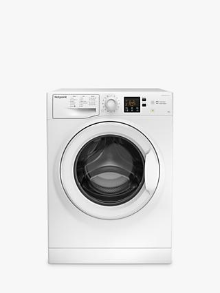 Hotpoint NSWJ 942U Freestanding Washing Machine, 9kg Load, A++ Energy Rating, 1400rpm Spin, White