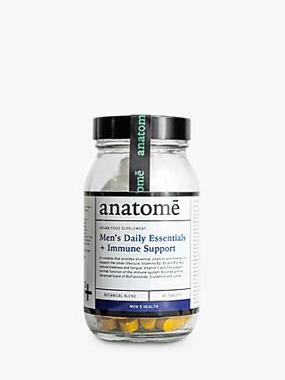 anatomē Men's Daily Essentials + Immune Support Health Supplement, 60 Capsules