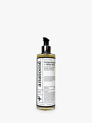 anatomē Invigorating Hand + Body Wash / Shower Gel, 250ml