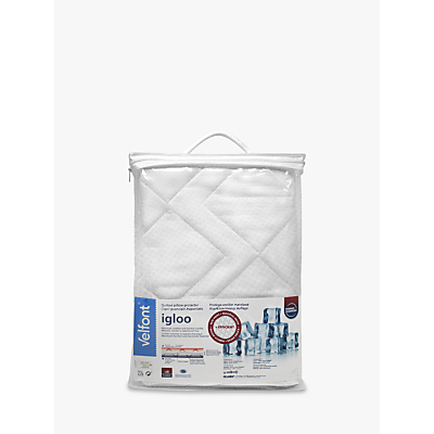 Velfont Temperature Regulating Quilted Standard Pillow Protector