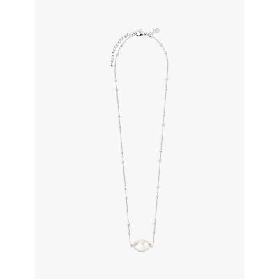 Joma Jewellery Isla Pearl Pendant Necklace, Silver