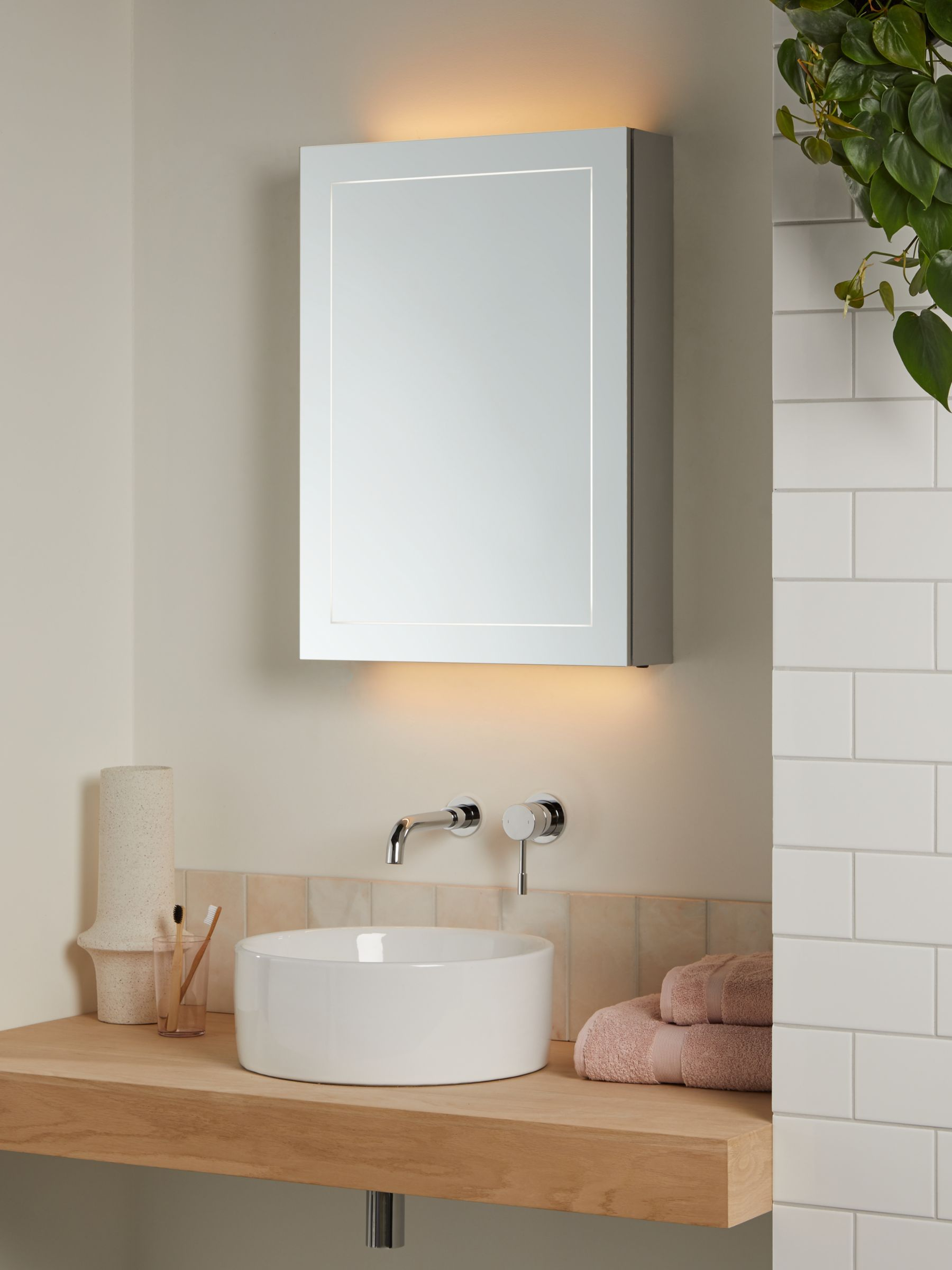 Illuminated Bathroom Cabinets John Lewis Partners