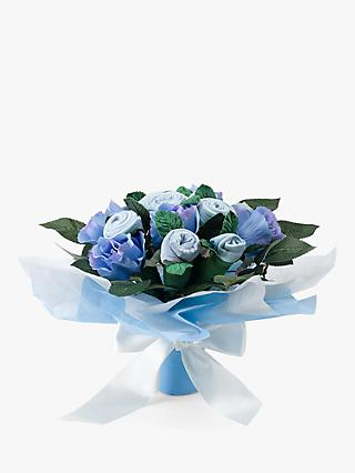 Babyblooms Baby Clothes Bouquet, Light Blue