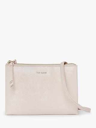 Ted Baker Deenah Leather Double Zip Cross Body Bag