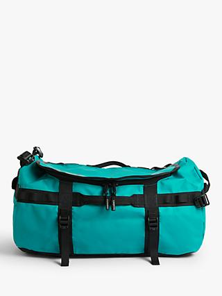 The North Face Base Camp Duffel Bag, Small, Fanfare Green/TNF Black