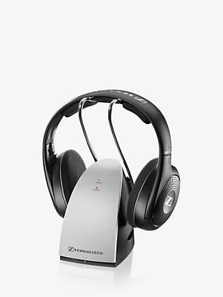 Sennheiser RS120 II Wireless Over-Ear Full Size Headphones, Black