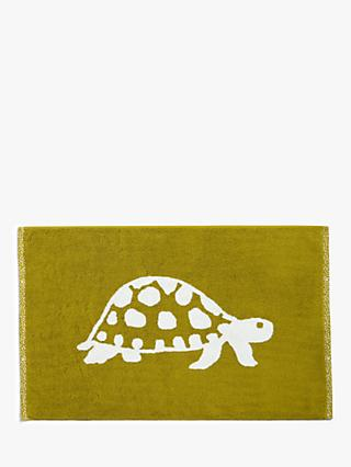 John Lewis & Partners Turtles Terry Cotton Bath Mat