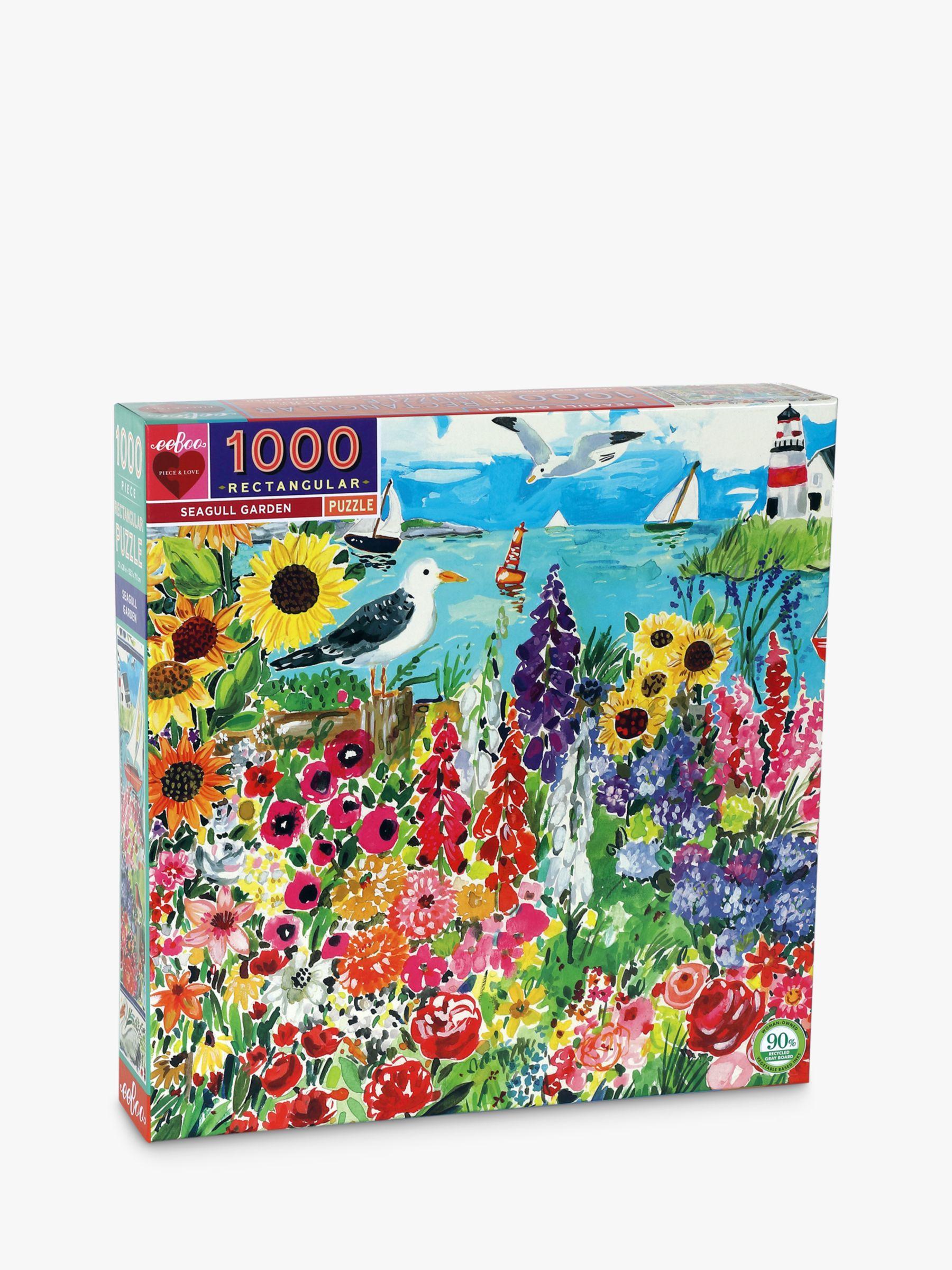 Eeboo eeBoo Seagull Garden Jigsaw Puzzle, 1000 Pieces