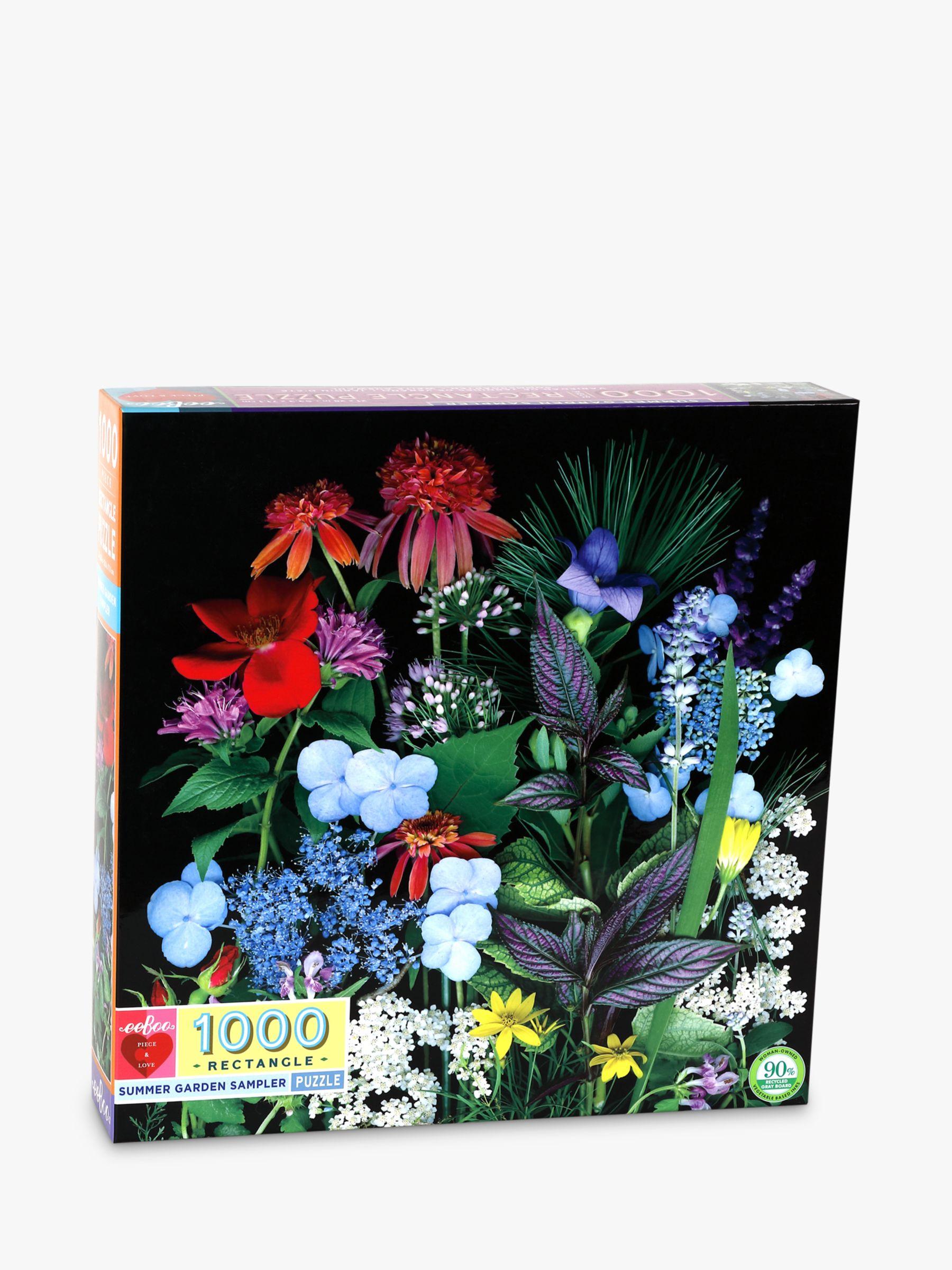 Eeboo eeBoo Summer Garden Jigsaw Puzzle, 1000 Pieces