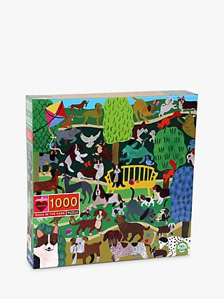 eeBoo Monika Forsberg Dogs in the Park Jigsaw Puzzle, 1000 Pieces