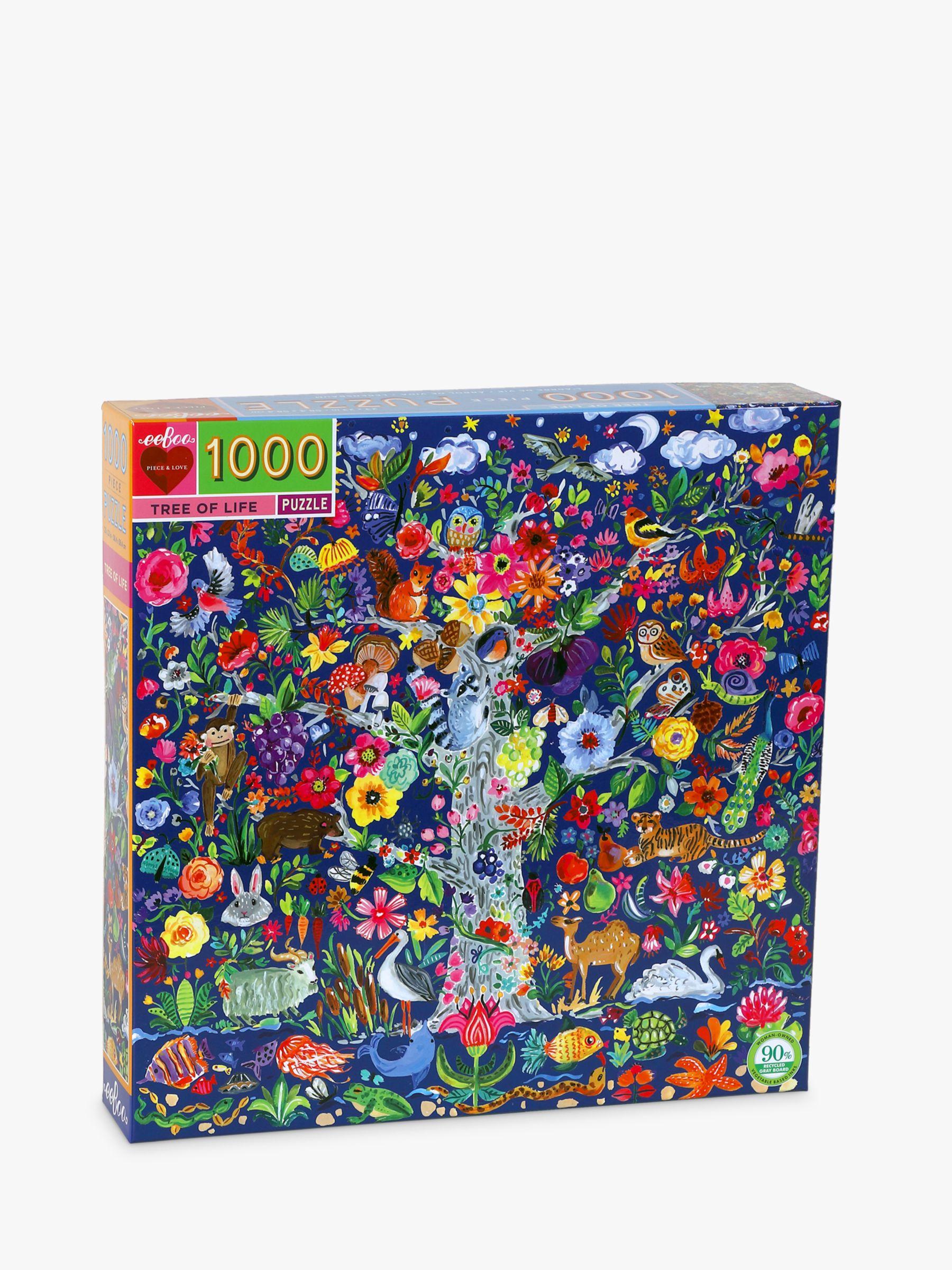 Eeboo eeBoo Tree of Life Jigsaw Puzzle, 1000 Pieces
