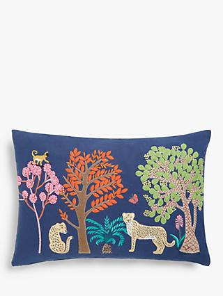 John Lewis & Partners Savannah Cushion, Multi