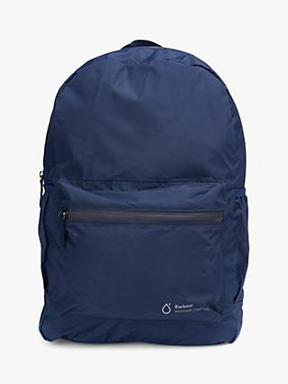 Barbour Weather Comfort Backpack, Navy