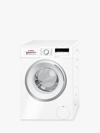 Bosch WAN28100GB Freestanding Washing Machine, 7kg Load, A+++ Energy Rating, 1400rpm Spin, White