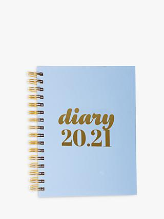 Collins Scandi A5 Mid Year Academic Diary 2020-21