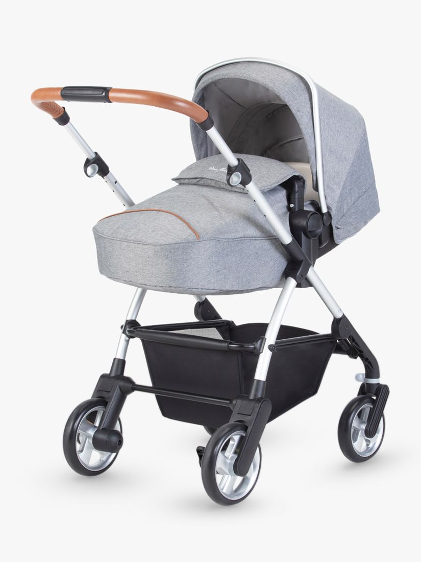 Silver Cross Pursuit Pushchair, Stone Grey