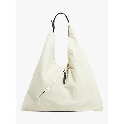 Product photo of Kin sana nylon canvas mix hobo bag