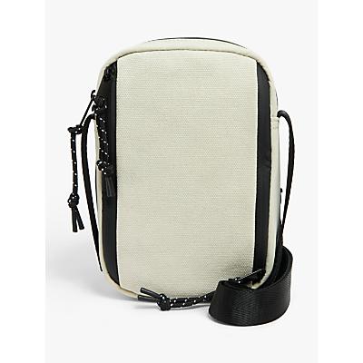 Product photo of Kin rika nylon canvas mix cross body bag