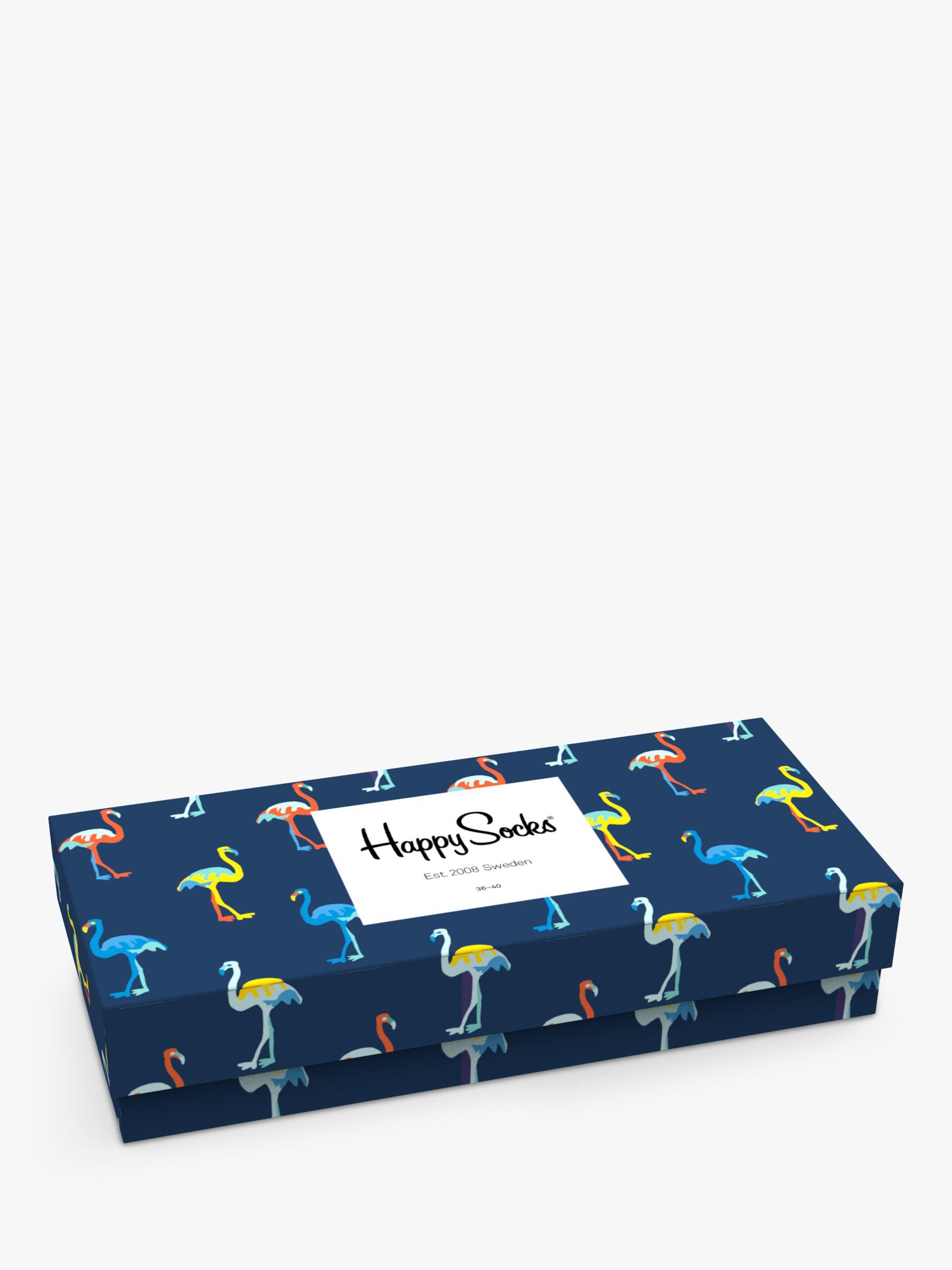Happy Socks Happy Socks Print Gift Box, Pack of 4, One Size