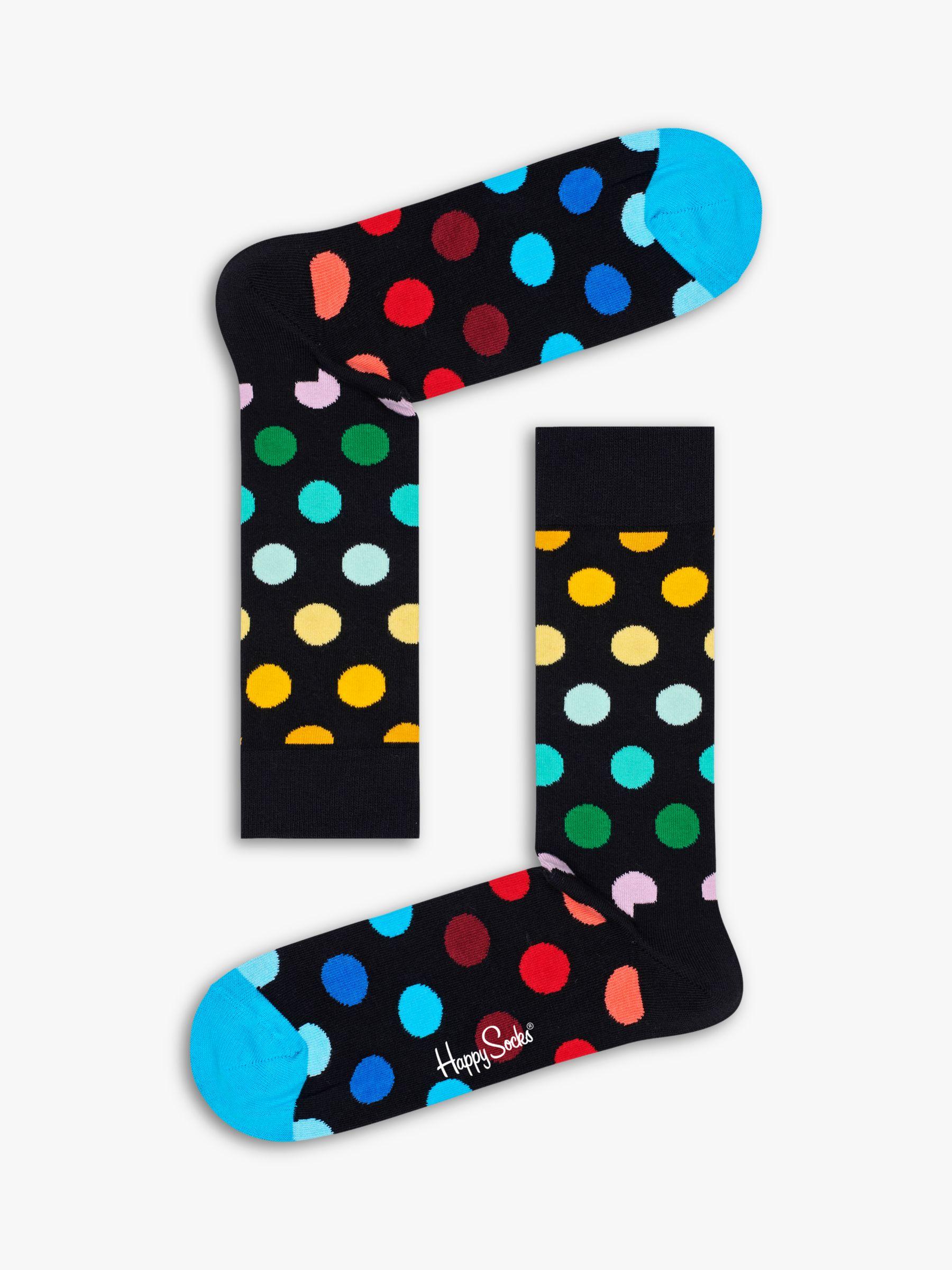 Happy Socks Happy Socks Big Dot Socks, One Size, Multi