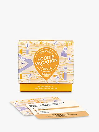 Ridleys Food Vacation Trivia Game