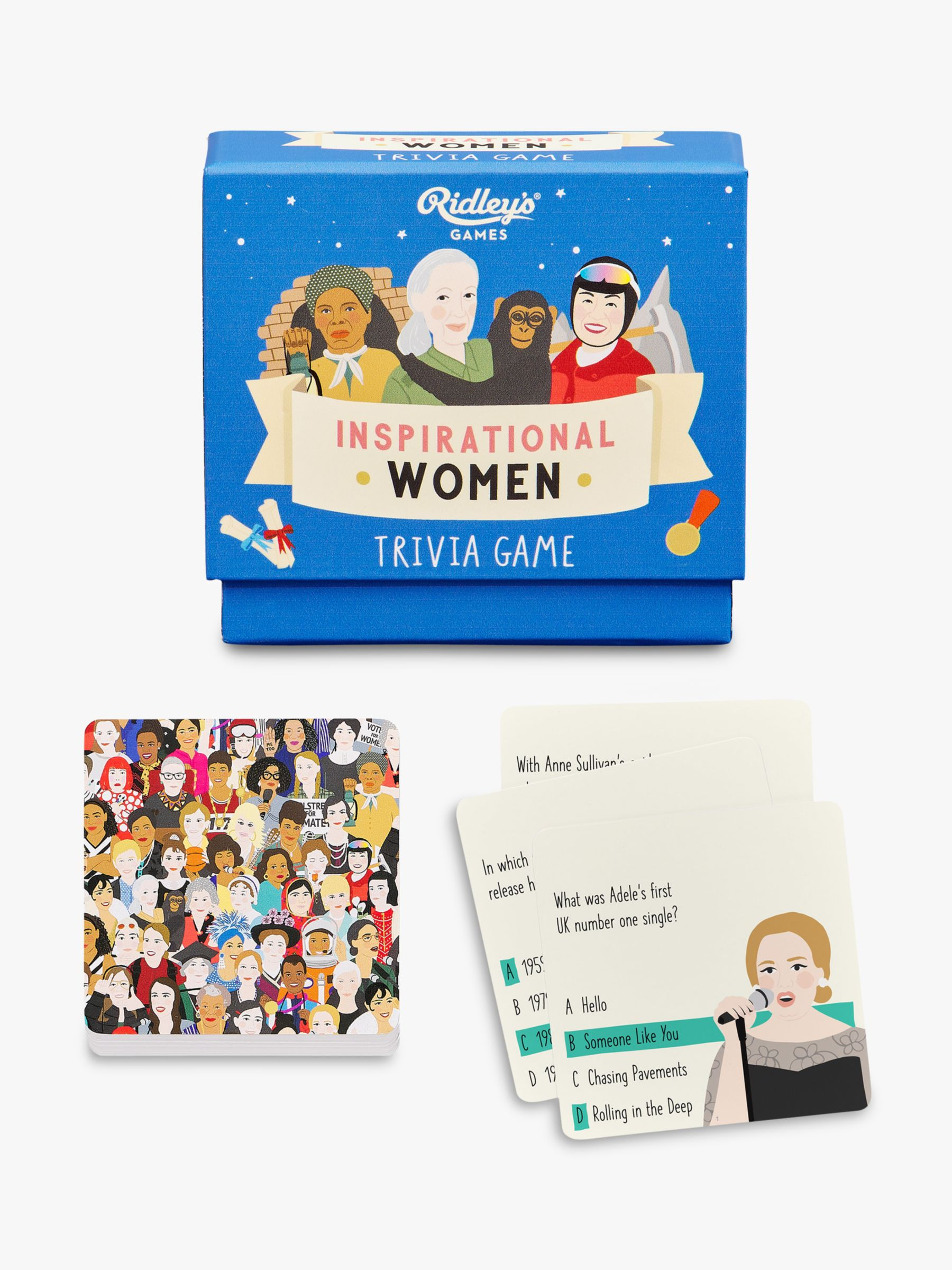 Ridley's Ridleys Inspirational Women Trivia Game