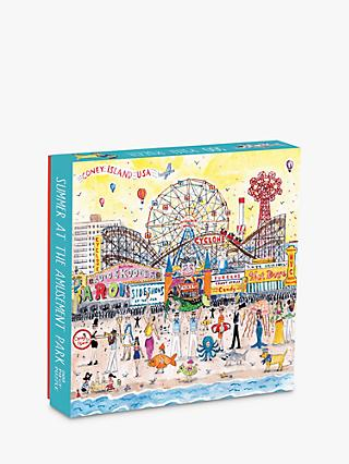 Galison Summer at the Amusement Park Jigsaw Puzzle, 500 Pieces