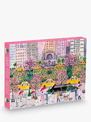 Galison Spring on Park Avenue Jigsaw Puzzle, 1000 Pieces