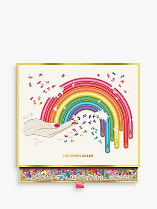 Galison Rainbow Hand Jigsaw Puzzle & Box, 750 Pieces