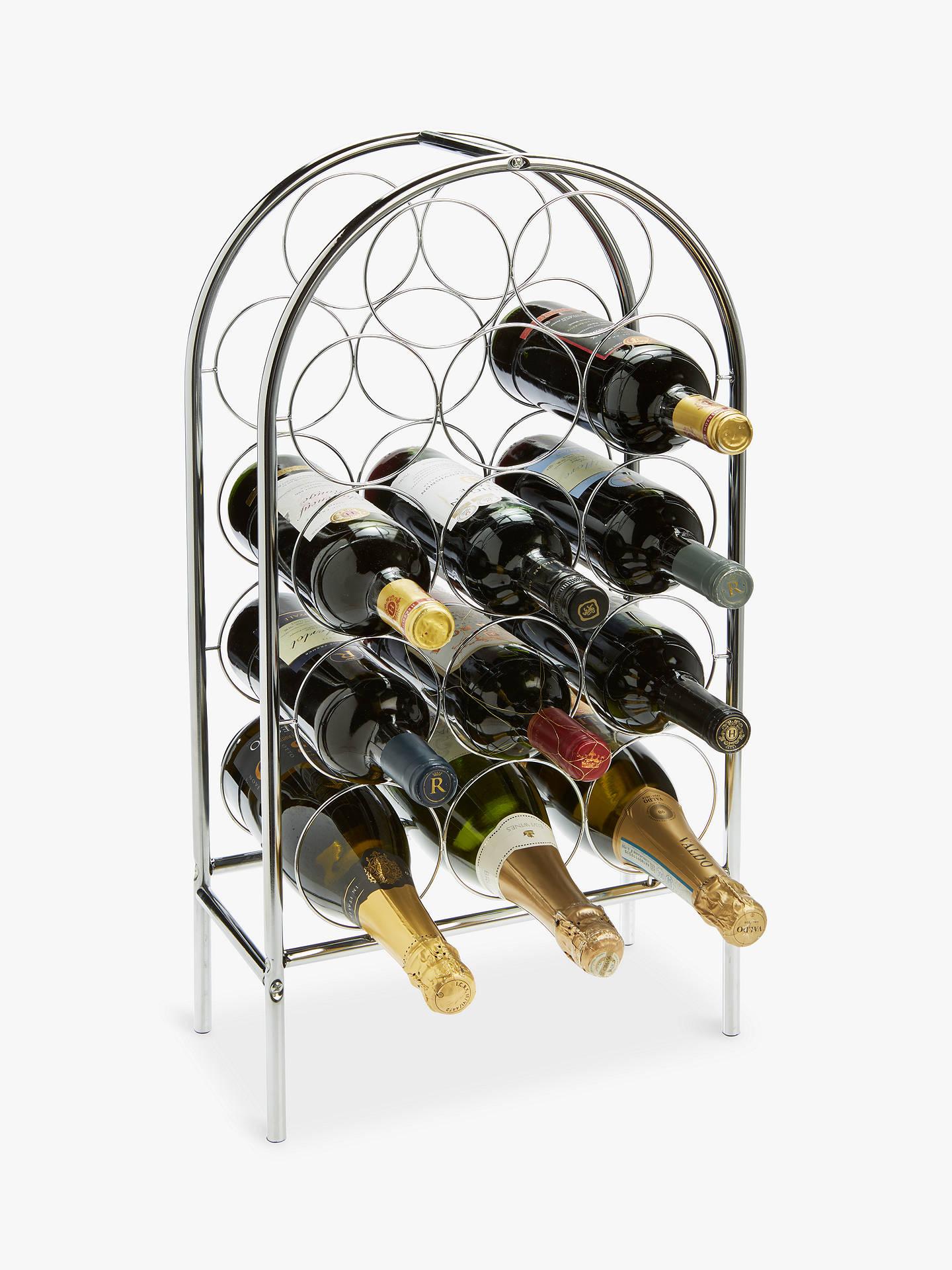 Rta Circlet Metal Floor Standing Wine
