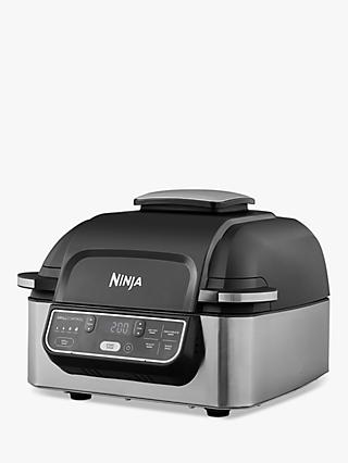 Ninja Foodi AG301UK Health Grill and Air Fryer, Grey