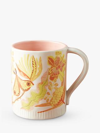Anthropologie Michelle Morin Mug, 319ml, Yellow/Multi