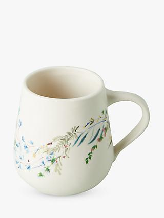Anthropologie Seasonally Good Mug, 462ml, Blue/Multi
