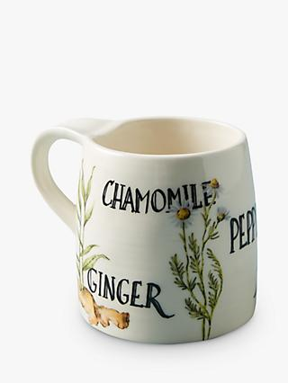 Anthropologie Medicinal Herbal Tea Mug, 438ml, Multi
