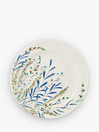 Anthropologie Seasonally Good Side Plate, 21cm, Blue/Multi