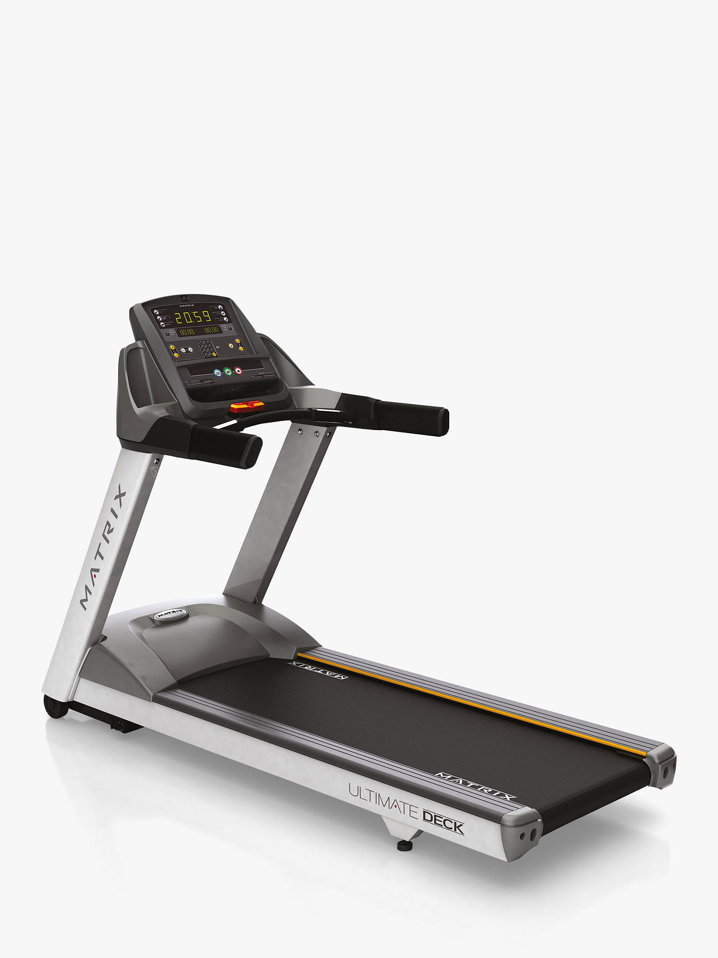 Buy Matrix Fitness Commercial T1X Treadmill Online at johnlewis.com