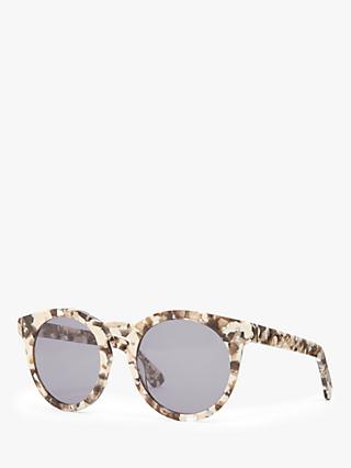 Modern Rarity Women's Preppy Round Sunglasses
