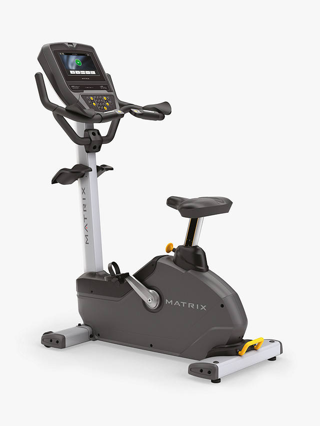 Buy Matrix Fitness Commercial U1XE Upright Exercise Bike Online at johnlewis.com